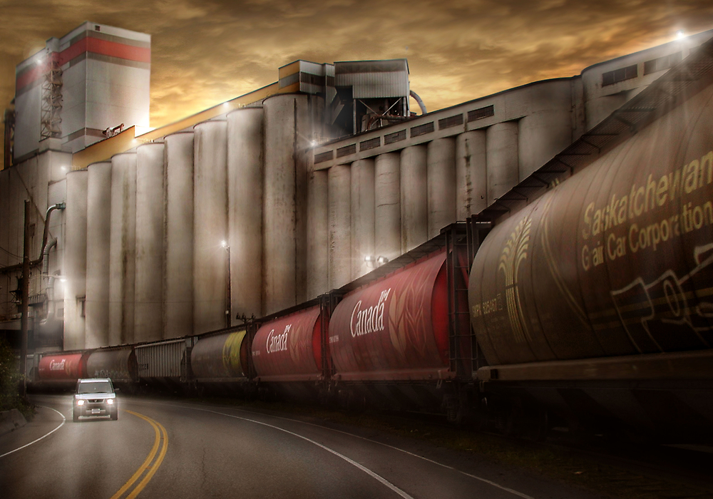 Oil or Food by Cliff Vestergaard