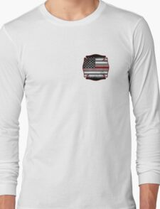 Thin Red Line - Fire Cross Long Sleeve T-Shirt