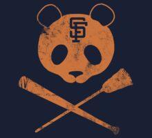 Panda Skull- SF Giants Kids Clothes