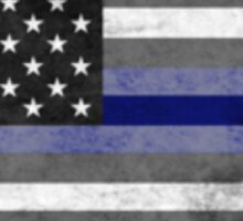 Thin Blue Line - Shield Sticker