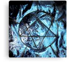 XX Two Decades of Love Metal Canvas Print
