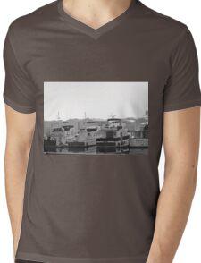 Boats Mens V-Neck T-Shirt