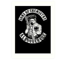 Sons of Chemistry- Breaking Bad Shirt Art Print