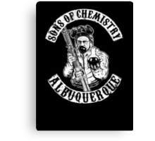 Sons of Chemistry- Breaking Bad Shirt Canvas Print