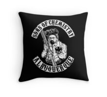 Sons of Chemistry- Breaking Bad Shirt Throw Pillow