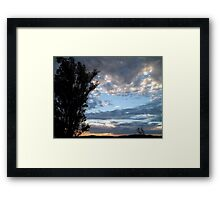 Tranquil Horizons Framed Print