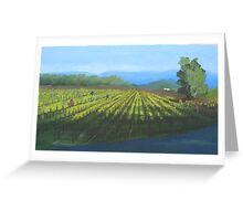Tying Vines Greeting Card