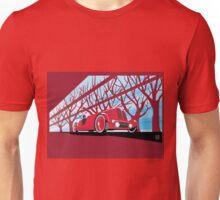 Ford Edsel vintage racer illustration Unisex T-Shirt