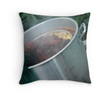 on the brink of life and death Throw Pillow