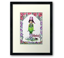 Prador Pott Bellie Pixie Framed Print