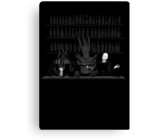 Dark Lord Happy Hour Canvas Print