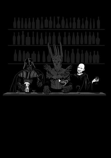Dark Lord Happy Hour by spacemonkeydr