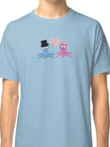 Cute Octopus Couple Classic T-Shirt