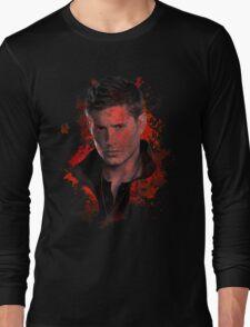 Splatter Dean Winchester Long Sleeve T-Shirt
