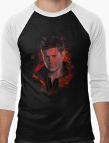 Splatter Dean Winchester Men's Baseball ¾ T-Shirt