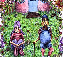 Simmo'n'Lockie Pott Bellie Pixies by DreddArt
