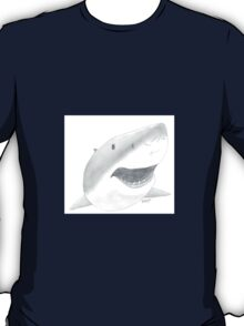 Great White Shark Face T-Shirt