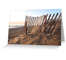 Domino Effect Greeting Card