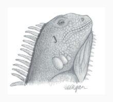 Iguana Lizard One Piece - Short Sleeve