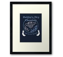 Dobby's Dry Cleaning- Harry Potter Framed Print