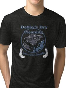 Dobby's Dry Cleaning- Harry Potter Tri-blend T-Shirt