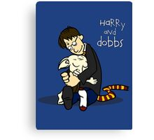 Harry and Dobbs- Harry Potter  Canvas Print