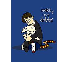 Harry and Dobbs- Harry Potter  Photographic Print