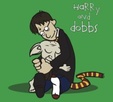 Harry and Dobbs- Harry Potter  One Piece - Short Sleeve