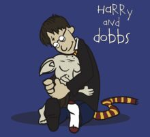 Harry and Dobbs- Harry Potter  by spacemonkeydr