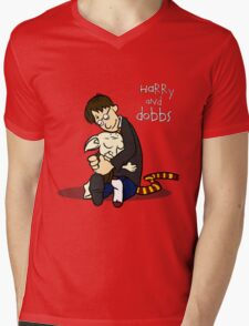 Harry and Dobbs- Harry Potter  Mens V-Neck T-Shirt
