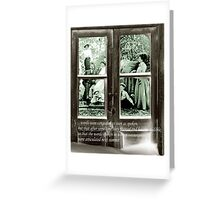 Thawed Memories Greeting Card