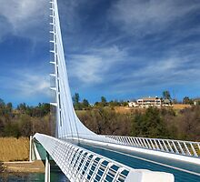 The Redding Sundial Bridge by James Eddy