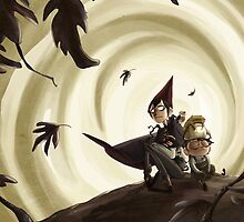 Over the garden wall _ Wirt Greg and Beatrice by gretateg