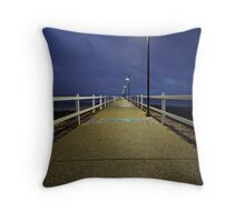 our peer by night Throw Pillow