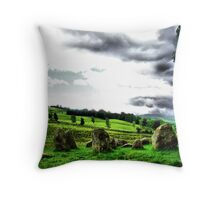 standing stones 2 Throw Pillow