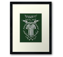 Baggins' Pawn Shop Framed Print