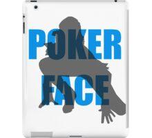 Poker Face Silhouette iPad Case/Skin