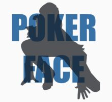 Poker Face Silhouette Kids Clothes
