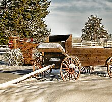 Winter Wagon by Mark Rogers