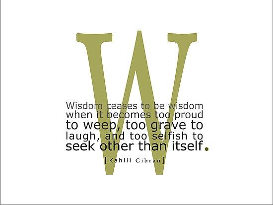 Wisdom by jegustavsen