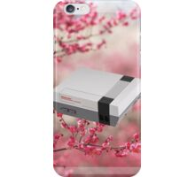 Cherry Blossom NES iPhone Case/Skin