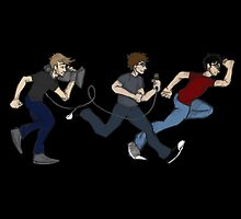 Team Lads Action News (of Achievement Hunter) by carpentre
