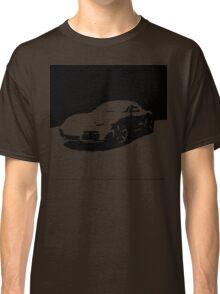 Porsche Cayman S - Black on White Classic T-Shirt