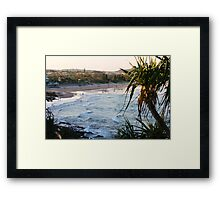 Dusk at Coolum Framed Print