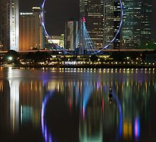 The Colours of the Singapore Flyer by tpixx
