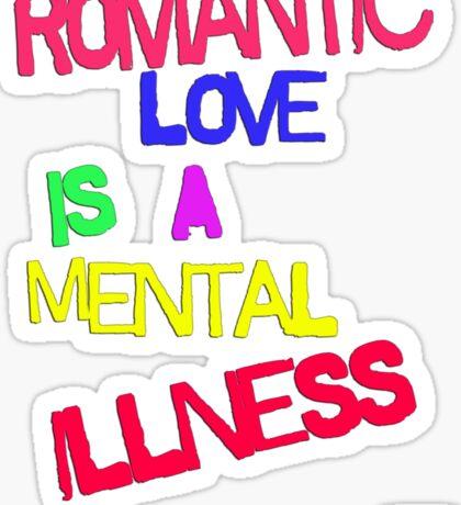 Romantic Love Sticker