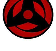 Naruto Shippuden - Kakashi Sharingan Shirt - Orginal  by lilmonstro1997