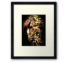 Abstract: TRY Framed Print