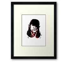 Che Iorveth - Viva la Scoia'tel! Framed Print