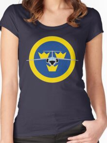 SAAB 105 Women's Fitted Scoop T-Shirt